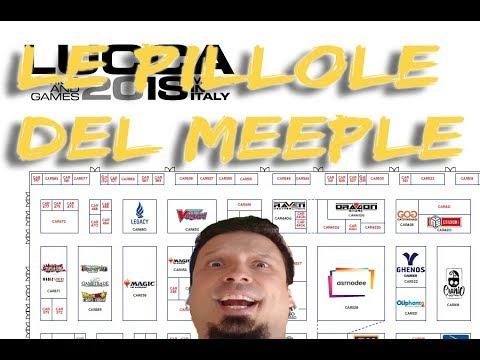 Giochi provati a Lucca 2018 - Le pillole del Meeple