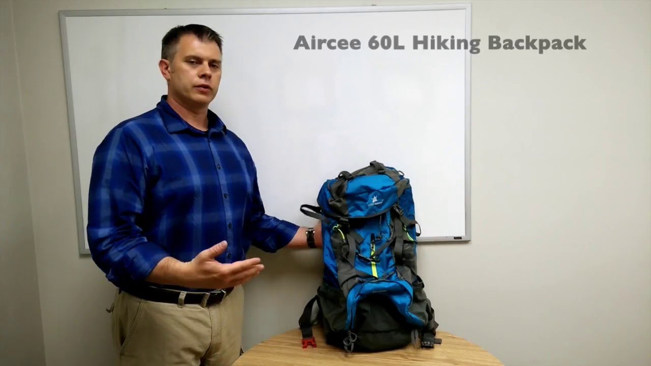 55415ad8e1d1 Awesome Budget Overnight Hiking Backpack Airsee 60L - YouTube