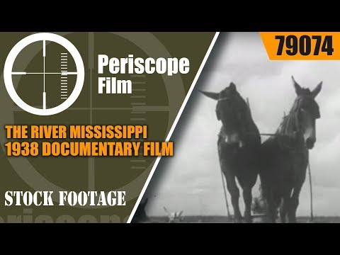 THE RIVER  MISSISSIPPI RIVER 1938 DOCUMENTARY FILM   PARE LORENTZ  79074