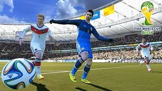 FIFA World Cup Brazil 2014 - Pro Evolution Soccer 2014 (PES 2014) predicts the final match