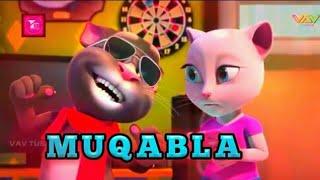 MUQABLA SONG , Talking Tom Version | Talking Tom Lover -- Fantastic studio