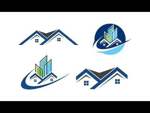 Real Estate Logo Design tutorial Adobe Illustrator Part -2 Bangla thumbnail
