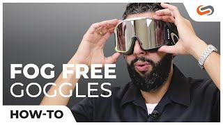How To Keep Your Goggles From Fogging Up | SportRx.com