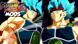 BARDOCK BLUE ARRIVES! God Bardock At The Tournament Of Power Unleashed | Dragon Ball FighterZ MODS