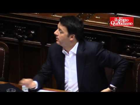 """Lega contro Renzi: """"Spalla della De Filippi"""". Boldrini interviene e scoppia la bagarre"""