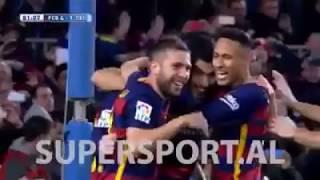 FC Barcelona 6 vs. 1 Celta Vigo, te gjitha golat me koment shqip 2015-16