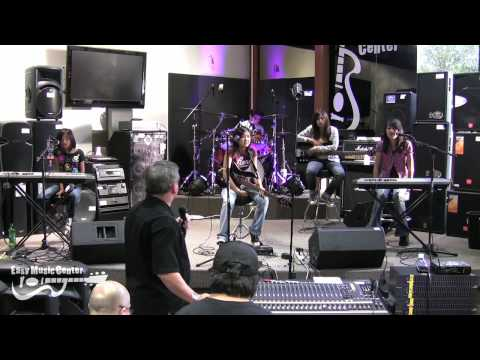 1/6 Yamaha Live Sound Clinic - Mixing a Live Band w/ Emke