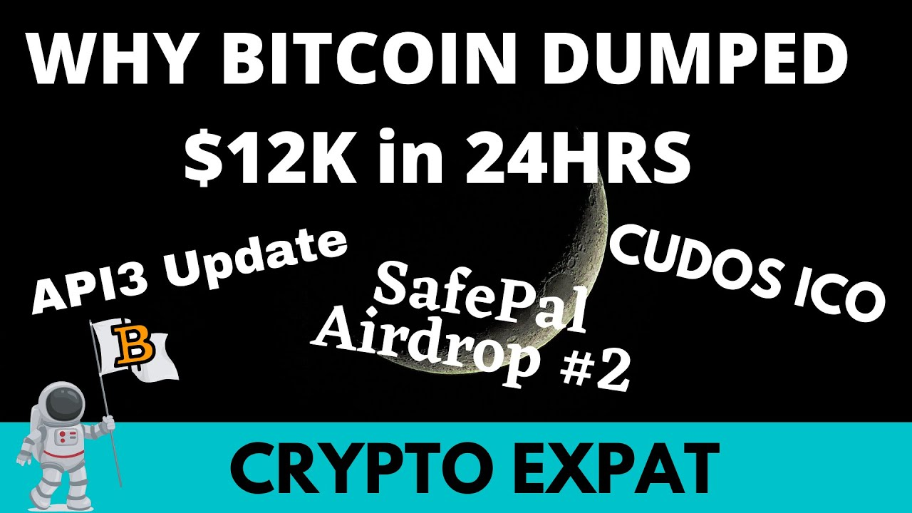 4 Reasons Why Bitcoin Dumped, SafePal Airdrop , Atomic Giveaway 20,000 ZIL, Cudos ICO 10X