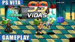 99Vidas PS Vita Gameplay (Story Mode)