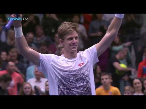 Kevin Anderson Defeats Kei Nishikori to Claim First 500 Title | Vienna 2018 Final Highlights
