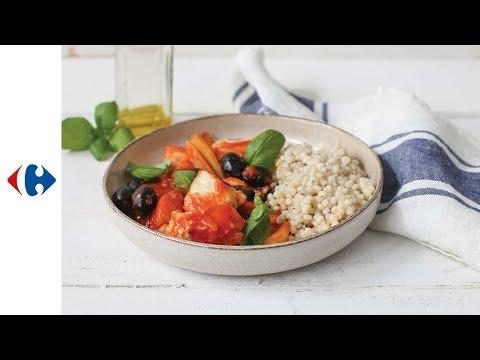 ragoût-de-poisson-à-l'italienne-et-couscous-perlé
