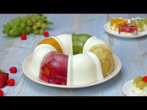 Как приготовить желейный торт с фруктами - Рецепты от Со Вкусом