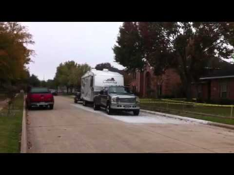 Ford F350 Dually Power Stroke Dual Double Towing Fifth