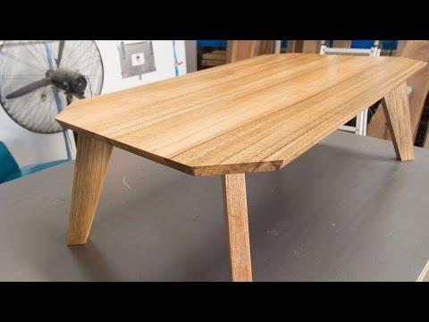 Build A Kickass Retro Coffee Table Jordswoodshop