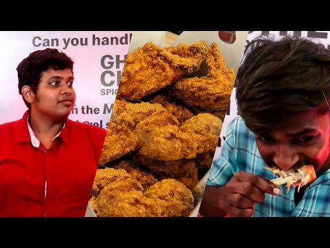 Food Challenge - McDonald's Ghost Chilli Spicy Chicken Challenge at Forum Mall