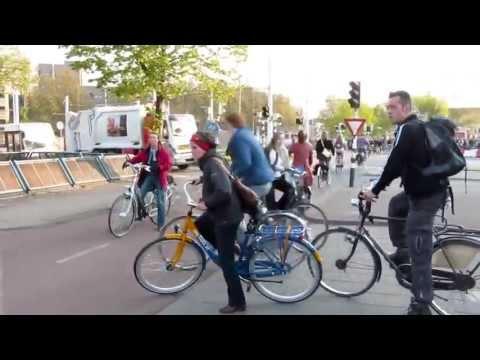 Hollanda'daki Bisiklet Kullanımı