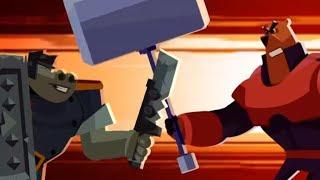 Мультфильмы Тлум - Собез - Средневековая битва -  Серия 11 - мультфильмы для детей