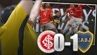 Internacional vs. Boca 0-1   Reacciones de Hinchas   Octavos IDA - Libertadores 2020