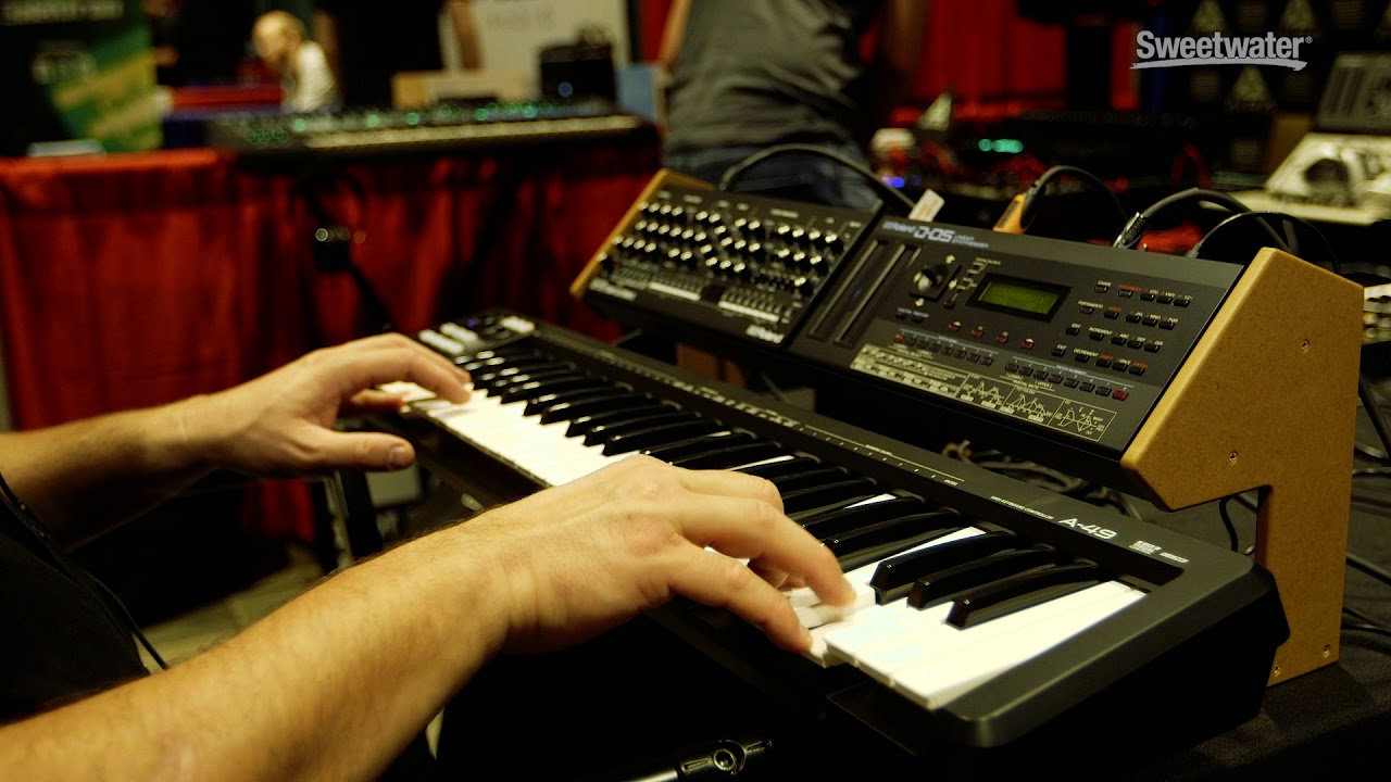 The Sounds of the Roland D-05 with Daniel Fisher | Sweetwater