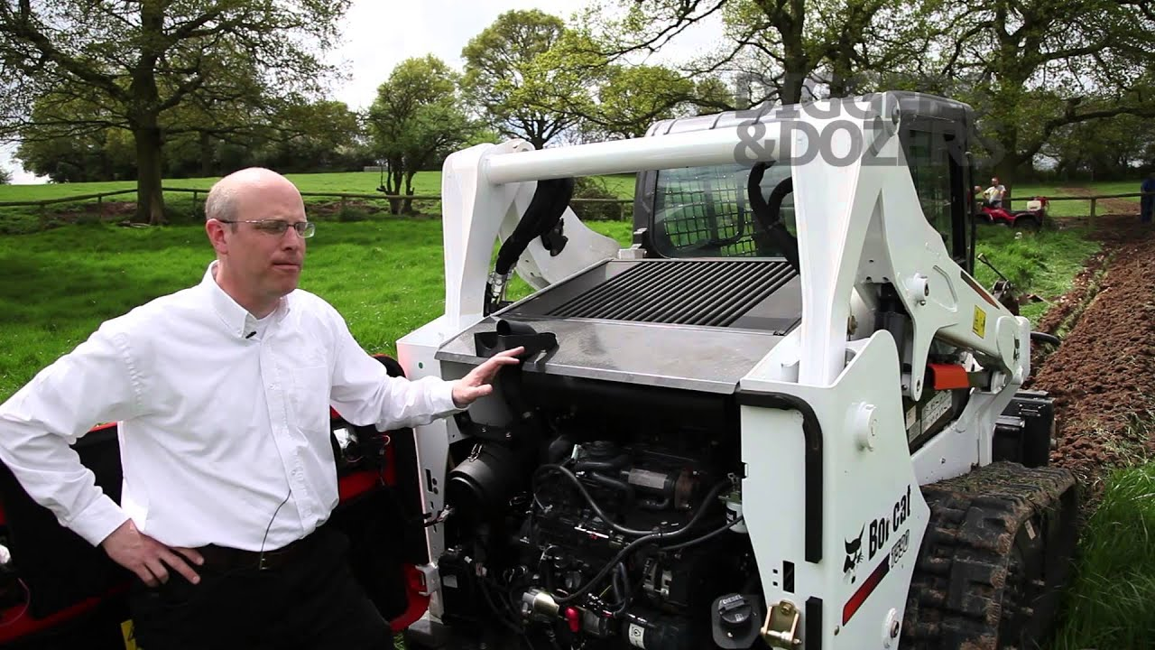t590 bobcat skid steer under the bonnet youtube rh youtube com bobcat t300 fuse box location bobcat fuse box diagram