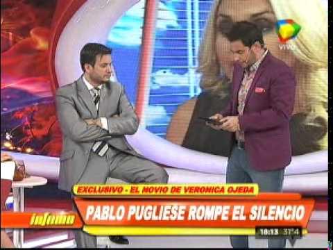 El novio de Verónica Ojeda le hace la guerra a Maradona