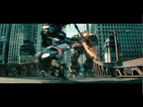 transformers 3 fight scene optimus vs sentinel hd 720p