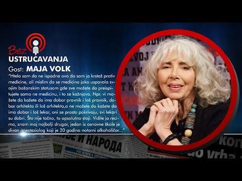 BEZ USTRUČAVANJA - Maja Volk: Konoplja ugrožava farmaciju jer je ona lek za sve!