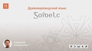Древнеирландский язык - Григорий Бондаренко