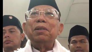 Ma'ruf Amin Kunjungi Korban Tsunami Selat Sunda
