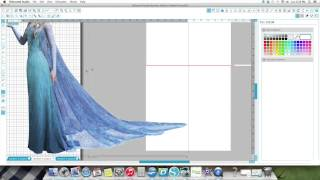 Step by Step on making a 2ft centerpiece using your Silhouette Designer Edition Software