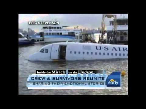 Dave Sanderson - Inspirational Survivor of the Miracle on the Hudson