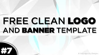 Free Clean Logo Template Vol. 2 #7 | DU Designs