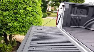 DualLiner Custom Under the Rail Bedliner, Ford F-150!
