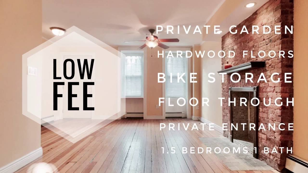 Video Tour Of 1 5 Bedrooms Floor Through Garden Apartment With Private Backyard In Park Slope