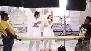 Courier Boy Kalyan - Bangaramma  Making Video | Nitin, Yami Gautam