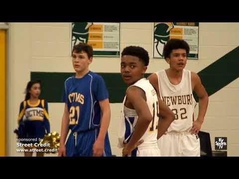 JCTMS vs Newburg [GAME] - MS Basketball 2017-18 [DISTRICT]