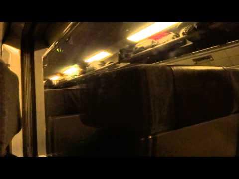 Eurostar journey through the Channel Tunnel