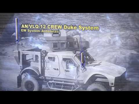 An Vlq 12 Crew Duke Electronic Warfare System Youtube