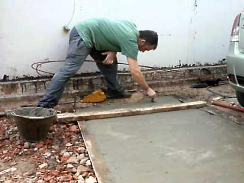 C mo se hace un contrapiso sin ser alba il youtube for Materiales para hacer un piso