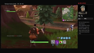 Fortnite en vivo