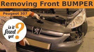 Removing & Reinstalling Front BUMPER - Peugeot 307