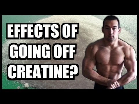 how long does it take to lose weight after stopping creatine