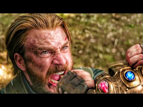 Thanos Vs Captain America - Avengers Infinity War (2018) Movie Clip HD [1080p 50FPS]