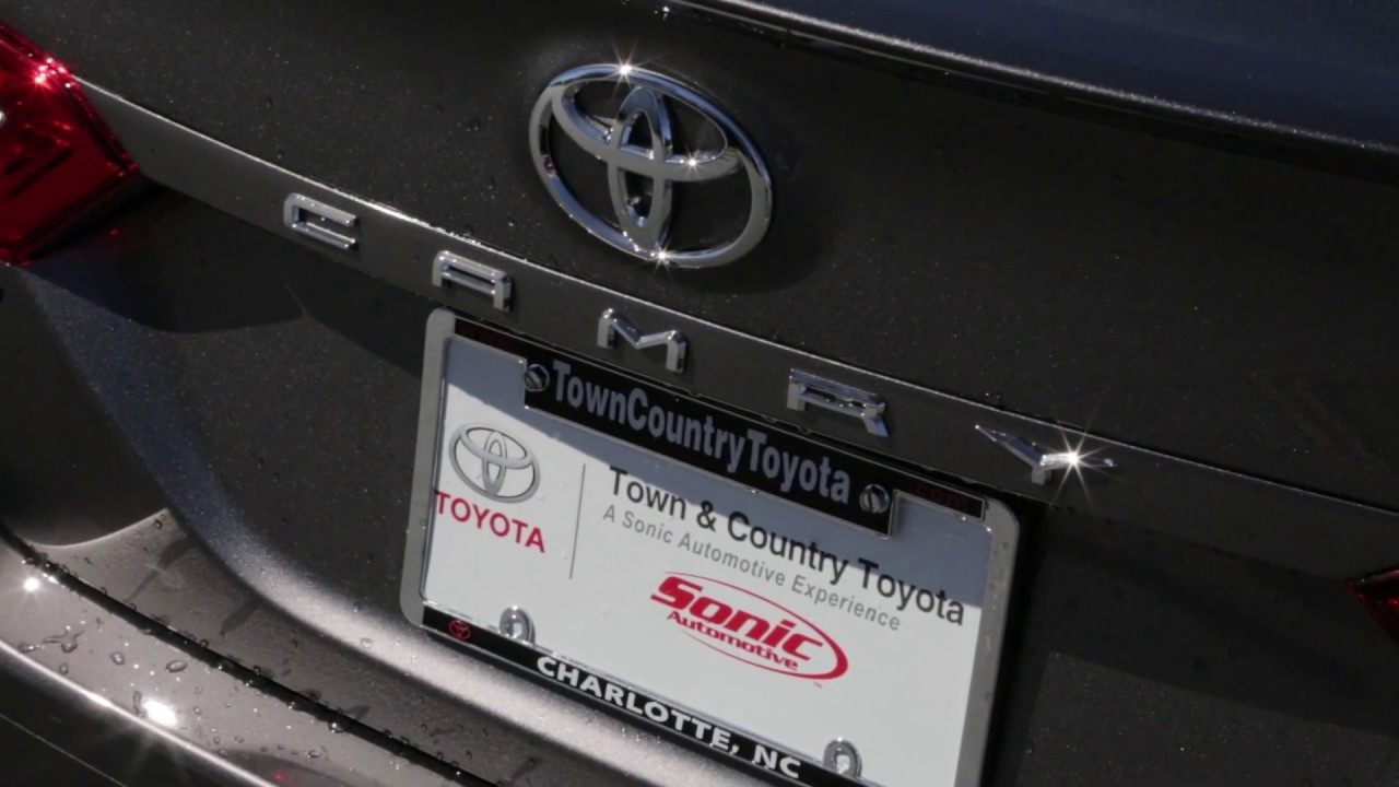 Town And Country Toyota >> Toyota Camry Town And Country Toyota Youtube