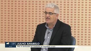 Junho Amarelo é dedicado ao combate das Hepatites Virais - Dr. Carlos Valias Gastroenterologista