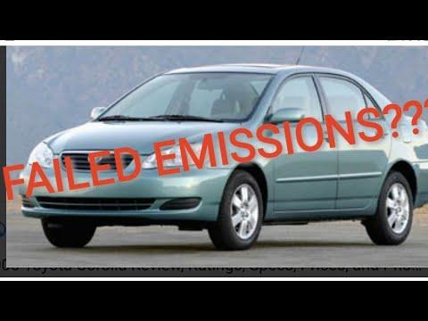 DIY How to fix Toyota corolla check engine light emissions P2401 P043E P043F P2402 P2419
