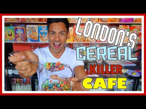 LONDON'S CEREAL KILLER CAFE