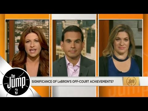 How significant are LeBron James' off-court achievements ? | The Jump | ESPN