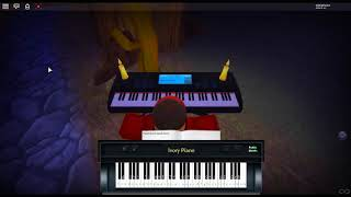 centro Pokemon Theme - Pokemon Red/Blue da: Junichi Masuda su un pianoforte ROBLOX.