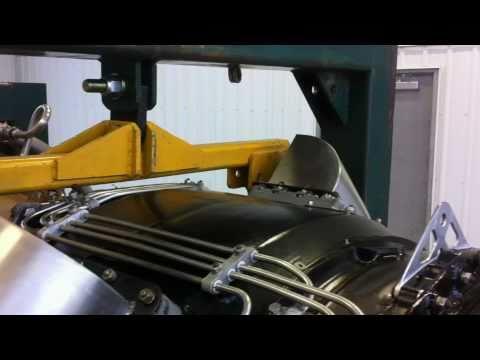 RR Avon Industrial Jet : test run to full power